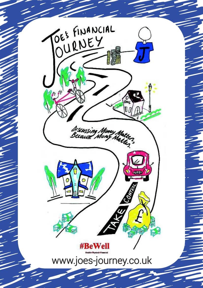 Cover page of Joe's Journey booklet